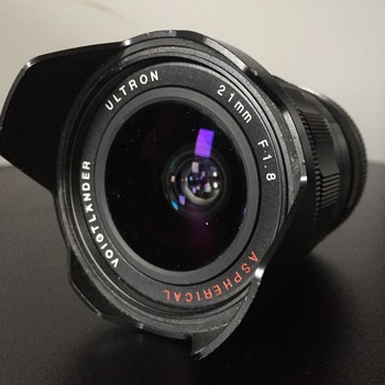 Rent Voigtlander 21mm f1.8 Ultron Wide Angle Lens for Leica M Mount with optional FE Mount Sony adapter