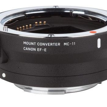 Rent Sigma MC-11 Canon EF Len  to Sony E mount