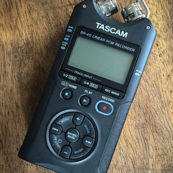 Rent Tascam DR-40 Audio Recorder