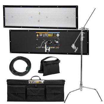 Rent LiteMat 2 Hybrid 2L S2 LED Light (w/ Stand, 50' Stinger)