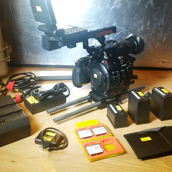 Rent Canon C300 Mark II (EF mount) + accessories