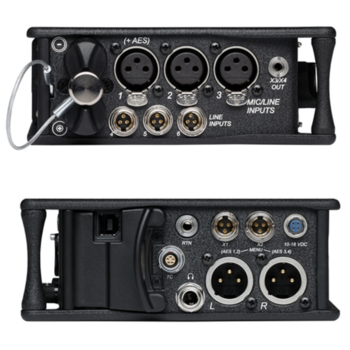 Rent Sound Devices 633 6-channel Audio Field Recorder