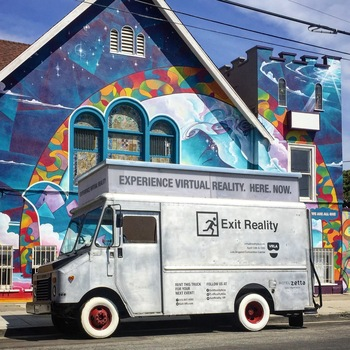 Rent Exit Reality VR Truck w/ HTC Vive