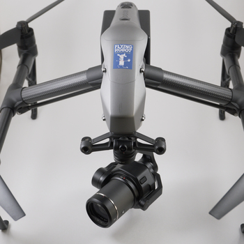 Rent DJI Inspire 2 with X7 Super 35mm Camera - state of the art integrated cinematography drone