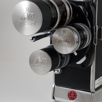 Rent Bolex H-16 16mm film camera with 3 Switar lenses and Canon 25-100 f/1.8 zoom lens