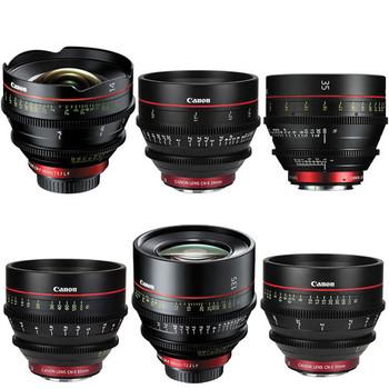 Rent Canon CNE Lens Kit