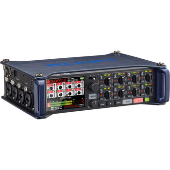 Rent 2 Lavs and a Zoom F8 Multi Track Field Recorder wired or wireless boom with shoulder bag