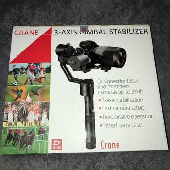 Rent Zhiyun Crane 3-Axis Gimbal Stabilizer