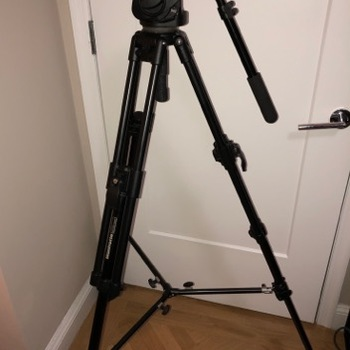 Rent Manfrotto 501HDV Tripod w/ bag