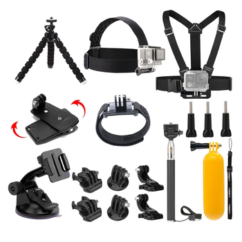 Rent Accessories Kit for GoPro Hero, Session, Akaso Action Cameras