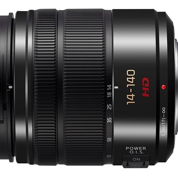 Rent Panasonic Lumix G Vario 14-140mm f/3.5-5.6 Lens (Black)