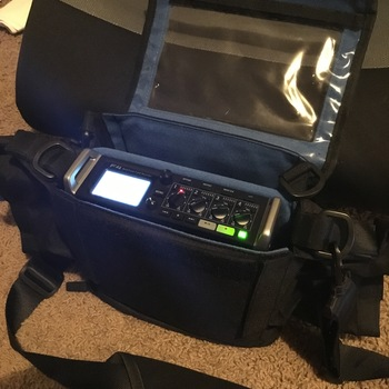 Rent Zoom F4 Multitrack Field Recorder Kit with Protective Case