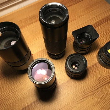 Rent LEICA R lenses with canon mount