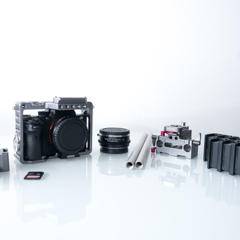 Rent Sony A7s II / Cage / EF mount / Batteries and Media for a Full Day shooting / Vari ND