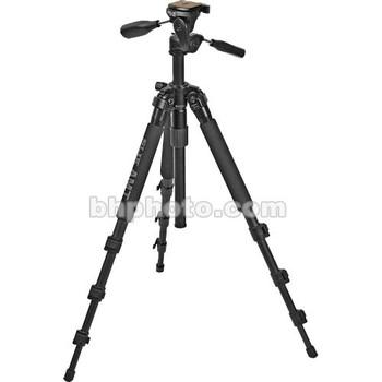Rent Slik Slik Pro 340 DX Tripod with SH-705E 3-Way, Pan-and-Tilt Head (Black