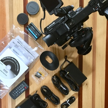Rent Sony FS5 Camera Package with RAW Upgrade