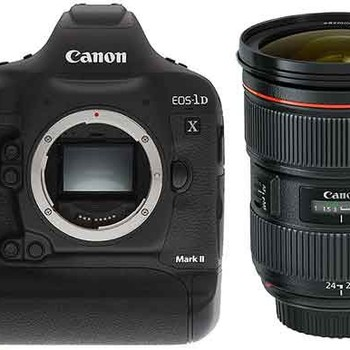 Rent Canon 1D X Mark II w/ 24-70mm f2.8L II Lens & WFT-E8A WiFi Transmitter + More