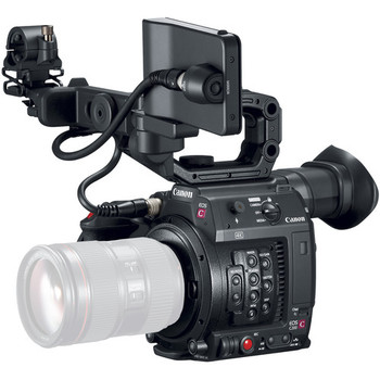 Rent Canon C200B w/ grip, monitor, and 3 batteries