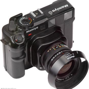 Rent Mamiya 6 6×6 cm Rangefinder 50mm f4 Lens