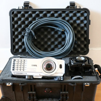Rent Short Throw BenQ Projector w/ Theatrical Mount - 3.2k Lumen