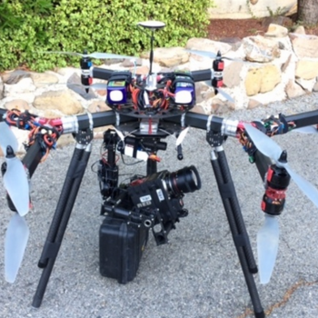 Rent 6K Dragon Drone incl. Camera and Ronin - FAA Approved Pilot