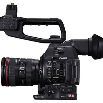Rent Canon C100 Mark II + 24-105mm f/4L IS