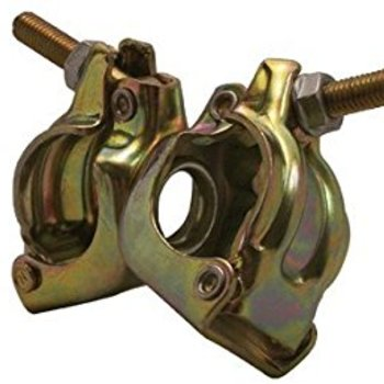 "Rent Set of 4  swivel Cheeseboro clamps for 1 1/4"" inch speed rail."