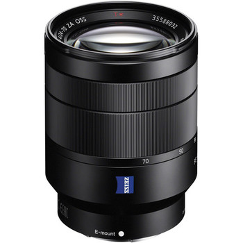 Rent Sony Zeiss 24-70mm f/4 E-Mount, Image Stabilized Zoom Lens