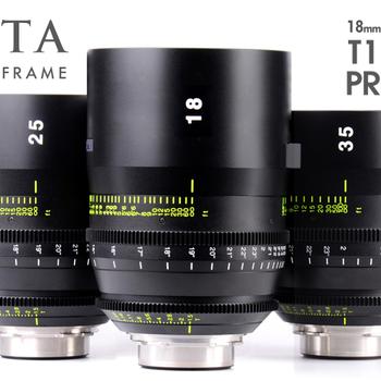 Rent Tokina Vista Cinema Prime 6 lens set PL mount