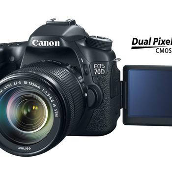 Rent Canon 70D w/ Kit Lens & Extra Batteries