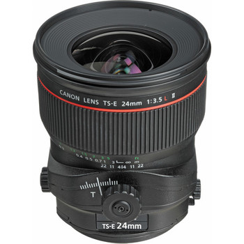 Rent Canon TS-E 24mm f/3.5L II w/ Hood
