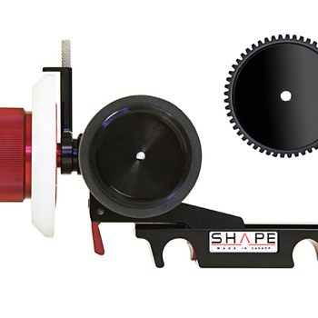 Rent SHAPE Friction & Gear Follow-Focus Clic with Adjustable Marker