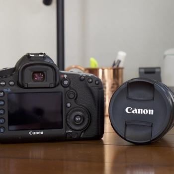 Rent Canon 5D Mark III + 24-105mm [Kit Lens]