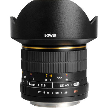 Rent Bower 14mm f/2.8 Ultra Wide Angle Lens