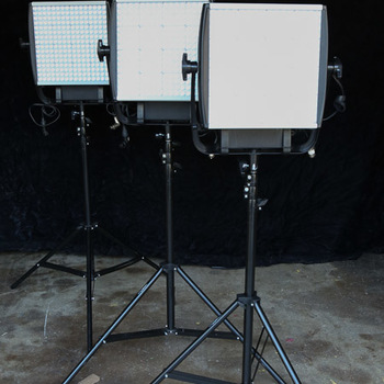 Rent 3 Astra Kit with stands, gold mount adapter and extras