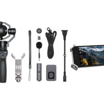 Rent DJI Osmo+ with 4K Zoom Camera & iPhone 7+