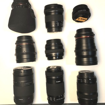 Rent 8 LENS KIT- PRIMES AND ZOOMS