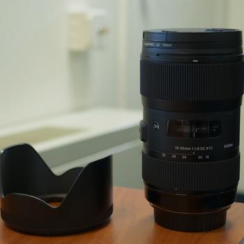 Rent Sigma 18-35mm f/1.8 ART Lens