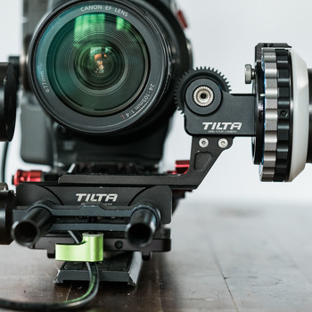 Rent Canon C300 Cinema Package ( Canon 24-105 zoom, zacuto universal plate, wooden camera NATO rail system, Tilta Follow Focus)