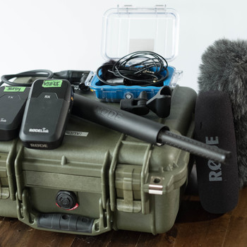 Rent Audio Kit: RODE: NTG3 Shotgun mic & Wireless Filmmaking Lav Kit + necessary accessories