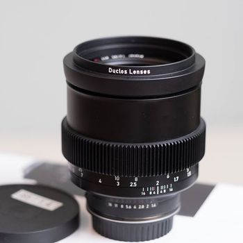 Rent Zeiss Milvus 85mm F1.4 Cine Mod- (Duclos Lens Mod) EF  Canon mount - Declicked AP