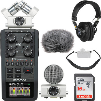 Rent Zoom H6 Portable Recorder Field Kit