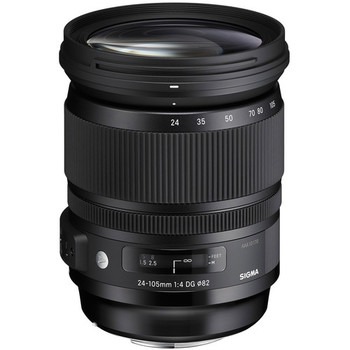 Rent Sigma 24-105 f/4 DG OS HSM Art Lens for Canon EF