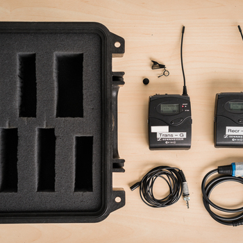Rent Sennheiser EW100 G3 Wireless Mic Kit (G Frequency)