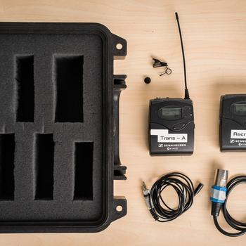 Rent Sennheiser EW100 G3 Wireless Mic Kit (A Frequency)