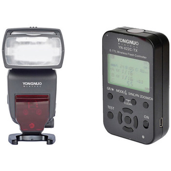 Rent Yongnuo TTL Wireless Speedlite for Canon Package