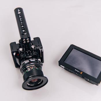 Rent Blackmagic Micro Cinema Camera With Speedbooster EF KIT Ready to Shoot!