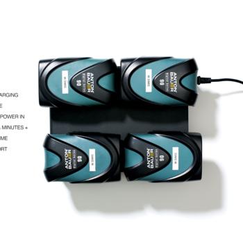 Rent (4x) Anton Bauer D-Tap Batteries with Quad Charging Station