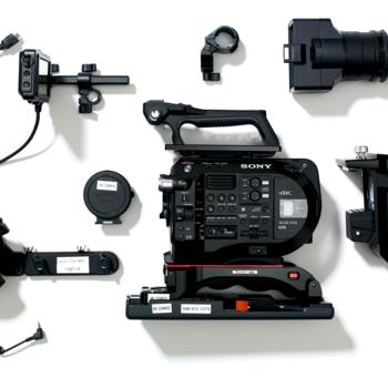 Rent FS7 Mark II - full kit (with fujinon 18-55mm lens)