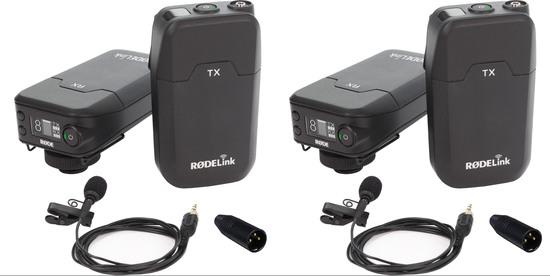 2x rode rodlnk fm rodelink wireless filmmaker kit 1115091